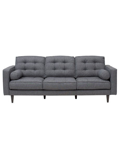 Fresh Bring retro style into your living area with the Hudson Three seater sofa from the Bianco Home Collections range Pictures - Modern 3 seater sofa Unique