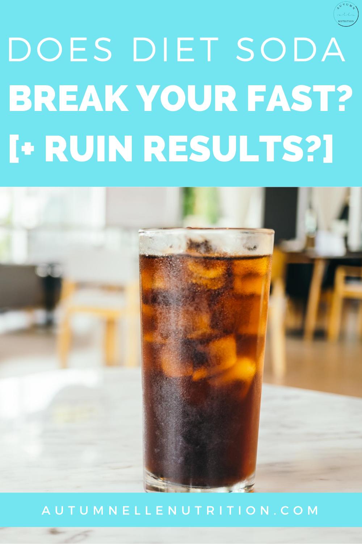 diet coke intermittant fast