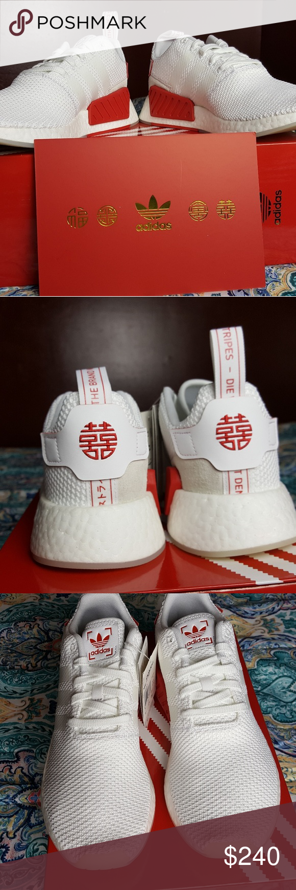 low priced 0edef 51ff1 Adidas NMD R2 Chinese New Year Size 9.5 Brand new NO TRADES ...