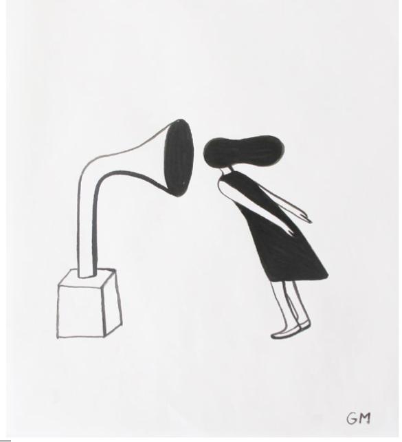 "Geoff McFetridge - ""MEDITALLUCINATION"" // V1 Gallery"