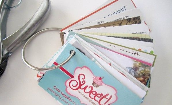 Clever Business Card Storage Ideas Rachel Hollis Business Cards Creative Blog Link Parties Clever Business Cards
