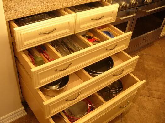 baking center Photobucket | Kitchen cabinet drawers ...