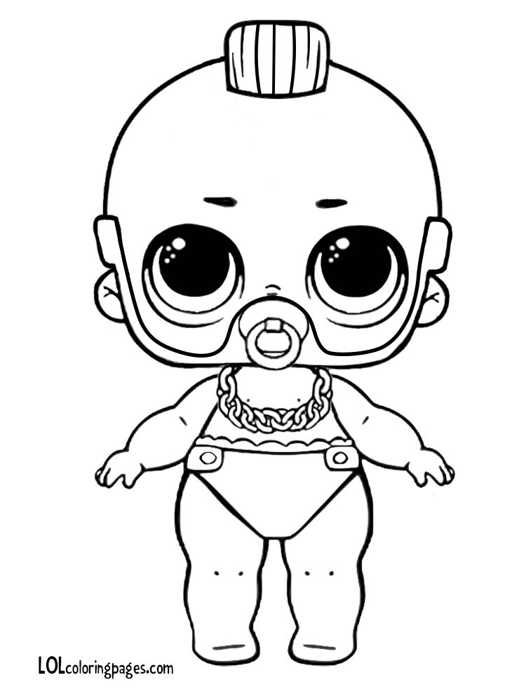Lil T Custom Lol Doll Coloring Page Baby Coloring Pages Dinosaur Coloring Pages Coloring Pages