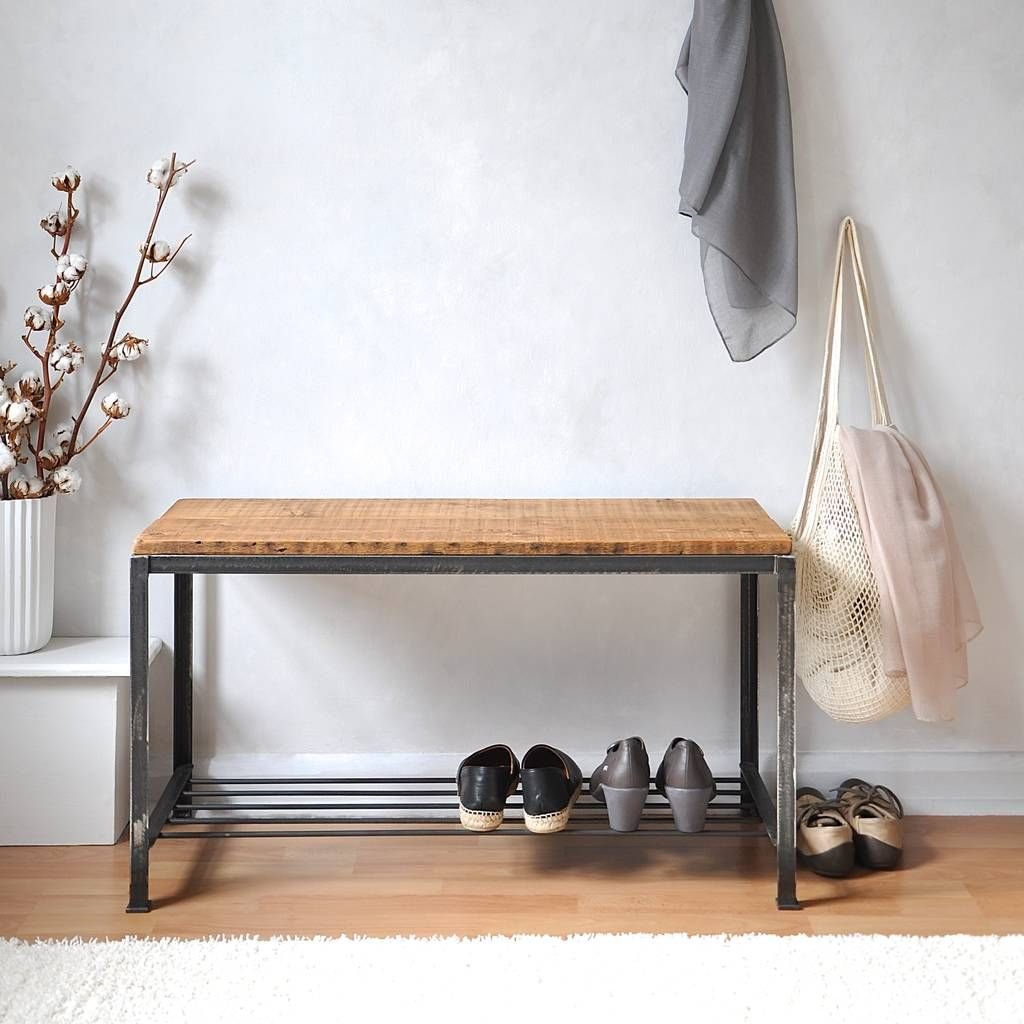 Inspirational Shoe Cabinet and Bench