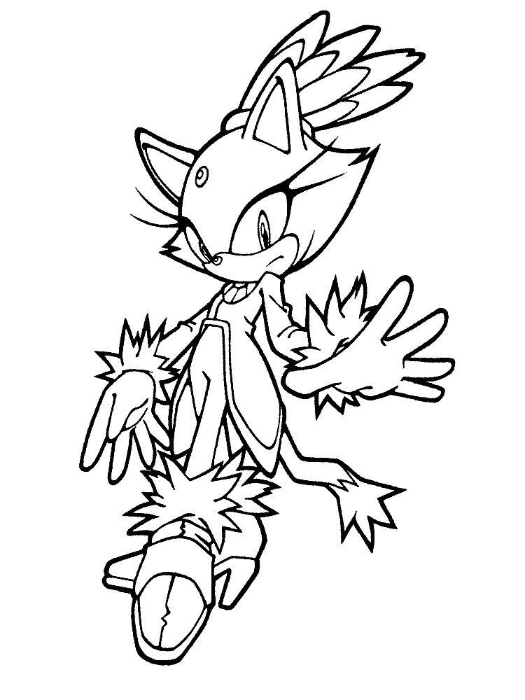 Dibujos para colorear - Sonic. | Para colorear | Pinterest | Mario bros