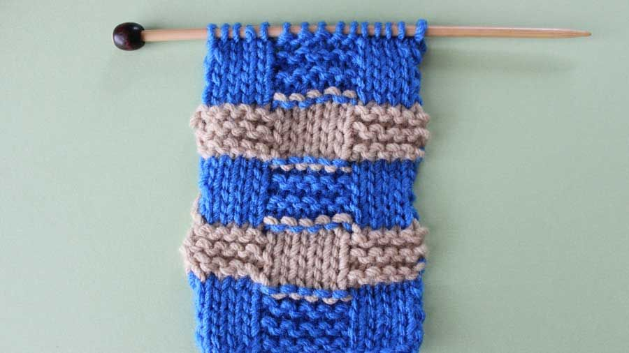 How To Remove Purl Dash Lines In Knitting With Stitch And Patterns