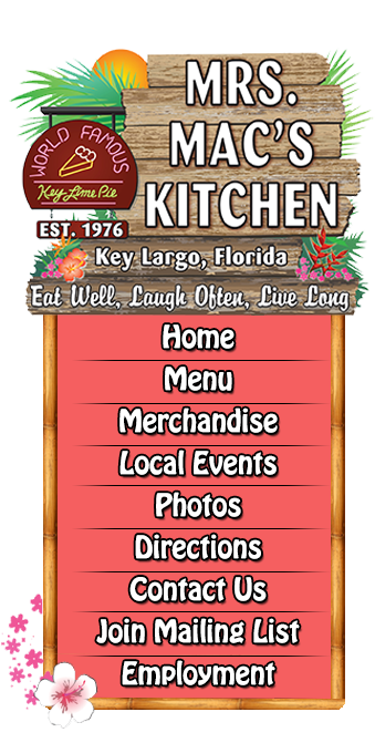 Mrs Mac S Kitchen American Seafood Restaurant Key Largo Fl 33037
