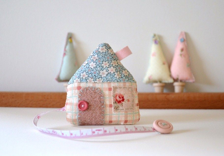 Fabric House Retractable Tape Measures Fabric Houses Ultimate Sewing Kit Handmade