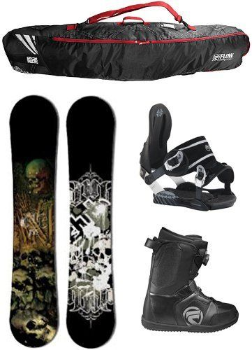DUB Skulls 155cm Bamboo Snowboard Package with Aspect Bindings and Flow BOA Boots Board Size 155-Boot Size-10 by DUB. $329.99. Complete Snowboard Package: Dub Skulls Bamboo Snowboard - Very High Quality, Bamboo Construction, Banana Rocker, Twin Tip Snowboard With Recycled Poplar Core, Radial Sidecut, Extruded Base And Environmentally Safe Resins. Head NX One Snowboard Bindings Come With A Two Year Warranty and Auto Open Hinge for easy in and out. Flow Vega Boa Boots Are ...