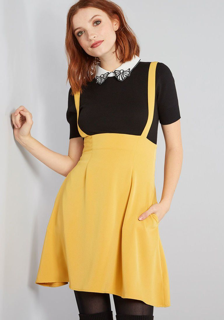 7aef5f74f2a8 Overall Winner Jumper in XS in 2019 | Products | Modcloth, Yellow ...