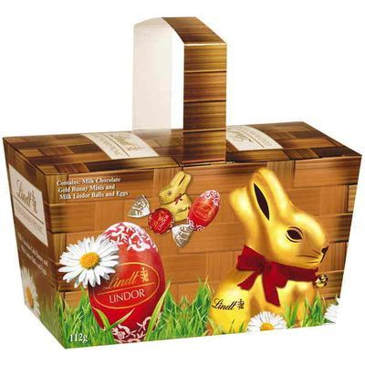 Check out lindt easter confectionery easter basket 112g at check out lindt easter confectionery easter basket 112g at woolworths order negle Image collections