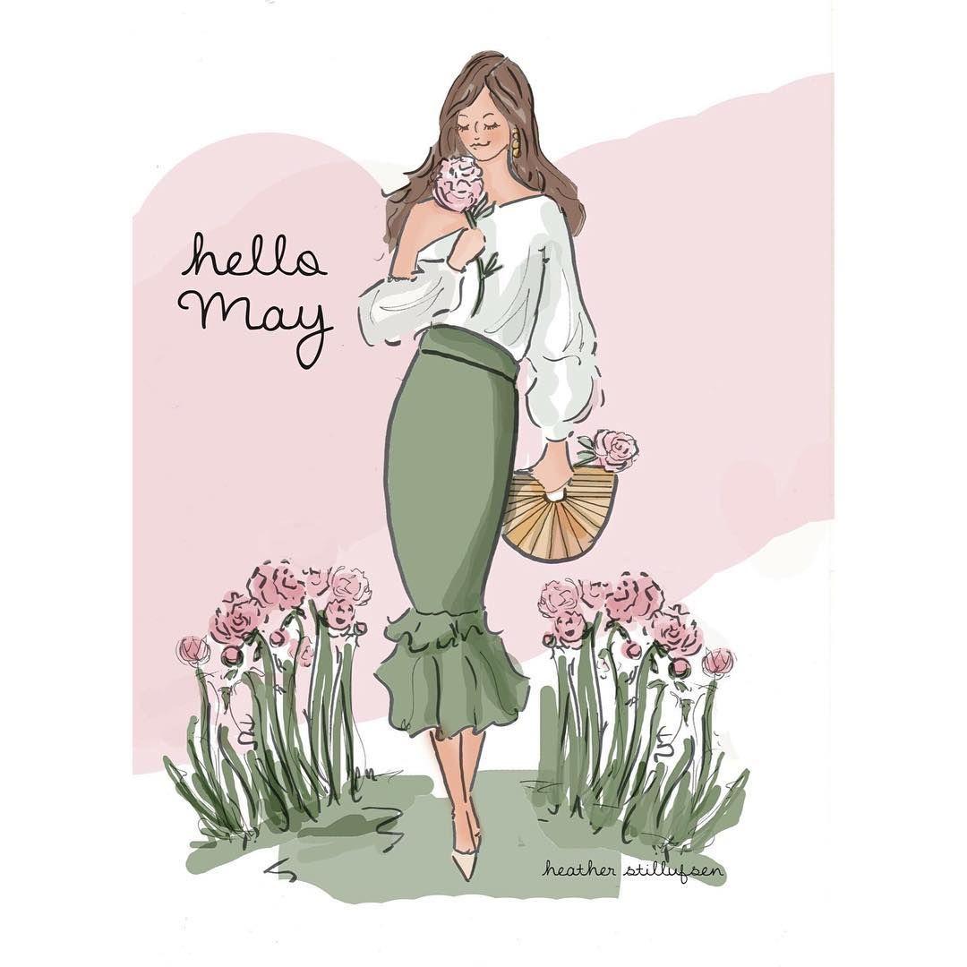 Hello May heatherstillufsen may mayday flowera peonies