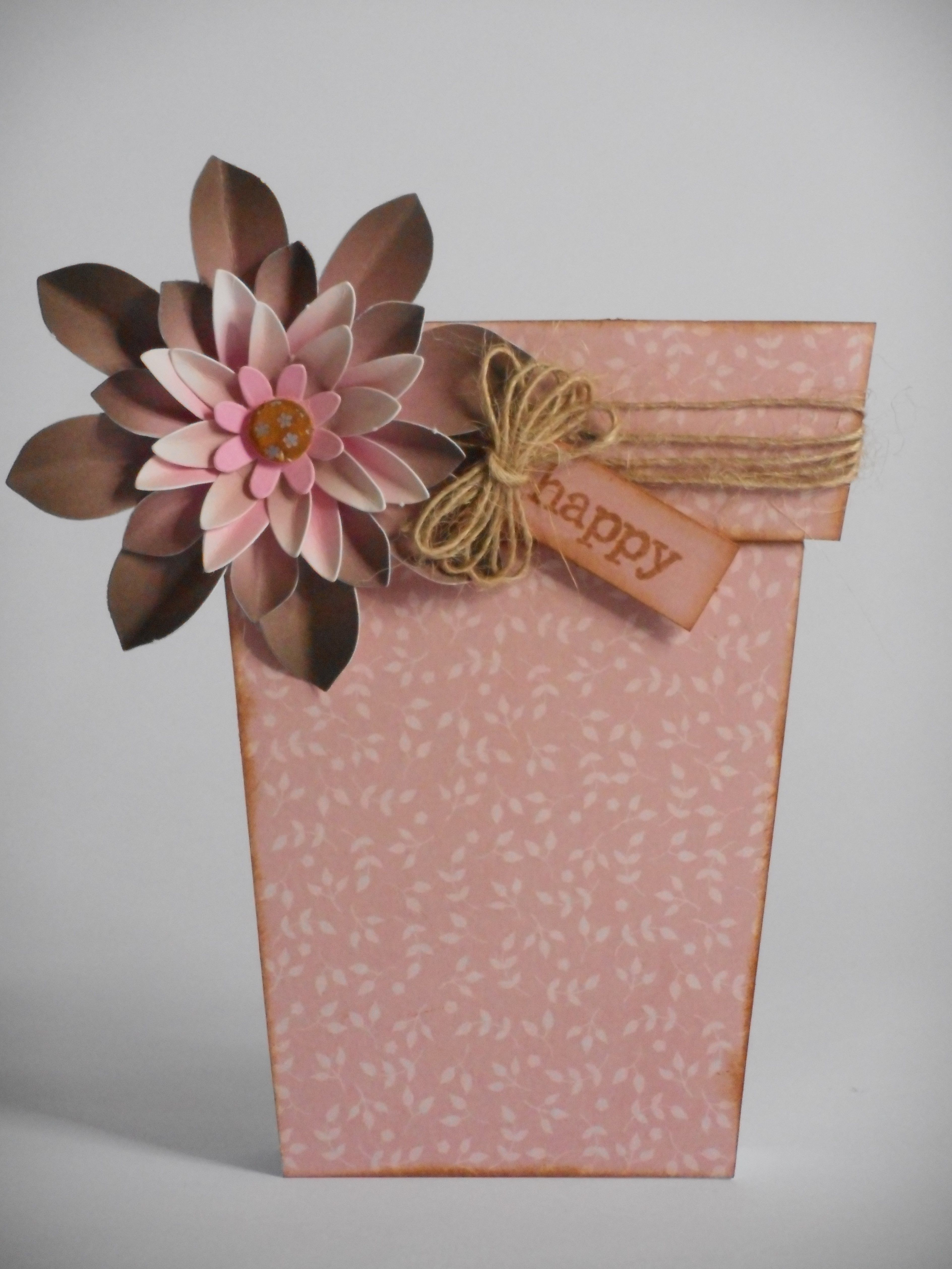Flower Pot Card made by Phillipa Lewis using Craftwork Cards