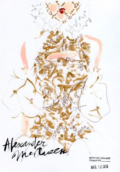 Alexander McQueen: FALL 2013 RTW