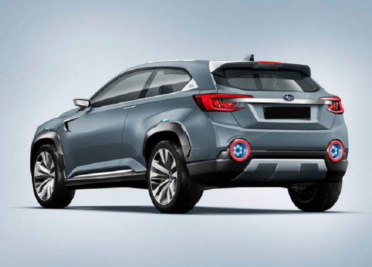 2017 Subaru Xv Crosstrek Rear View