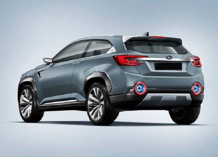 2017 Subaru XV Crosstrek rear view Subaru Pinterest