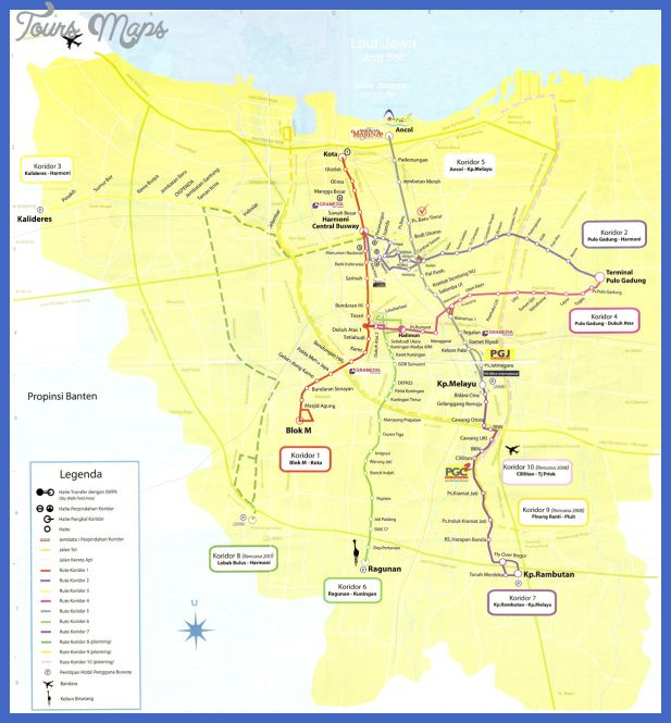 nice Jakarta Metro Map Tours Maps Pinterest