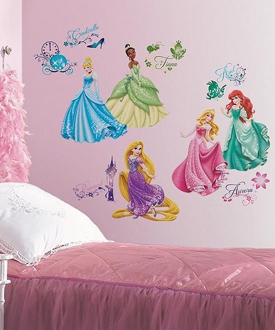Disney Princess Wall Decal Set