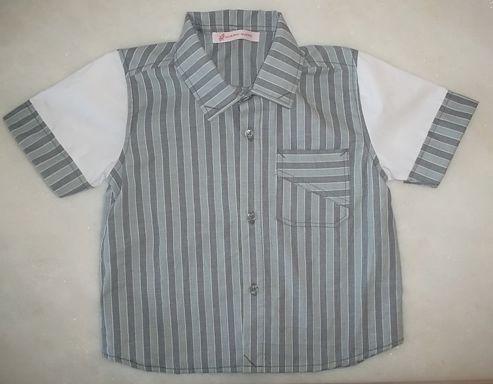 Camisa Infantil com detalhes... uma graça! $70.00