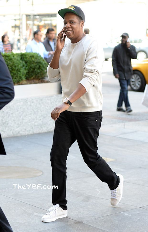 Jay Z in the PUMA Suede Classic