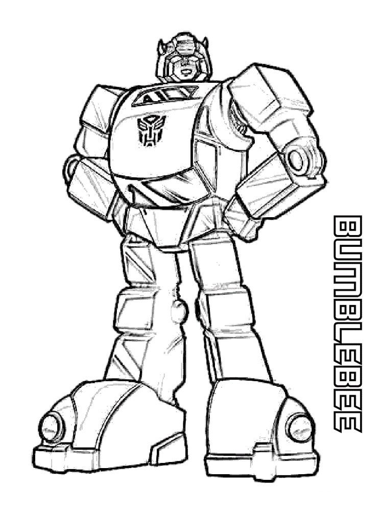 Bumblebee Coloring Page Bee Coloring Pages Transformers Coloring Pages Kids Printable Coloring Pages