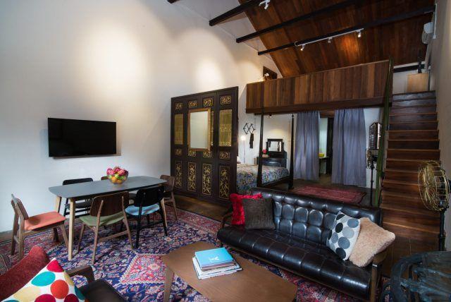 Muntri Mews And Residences 嗎車房 Family Room Home Decor Room
