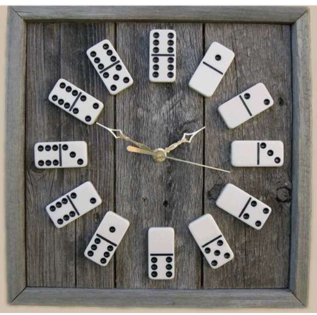 Domino Clocks #craftstosell