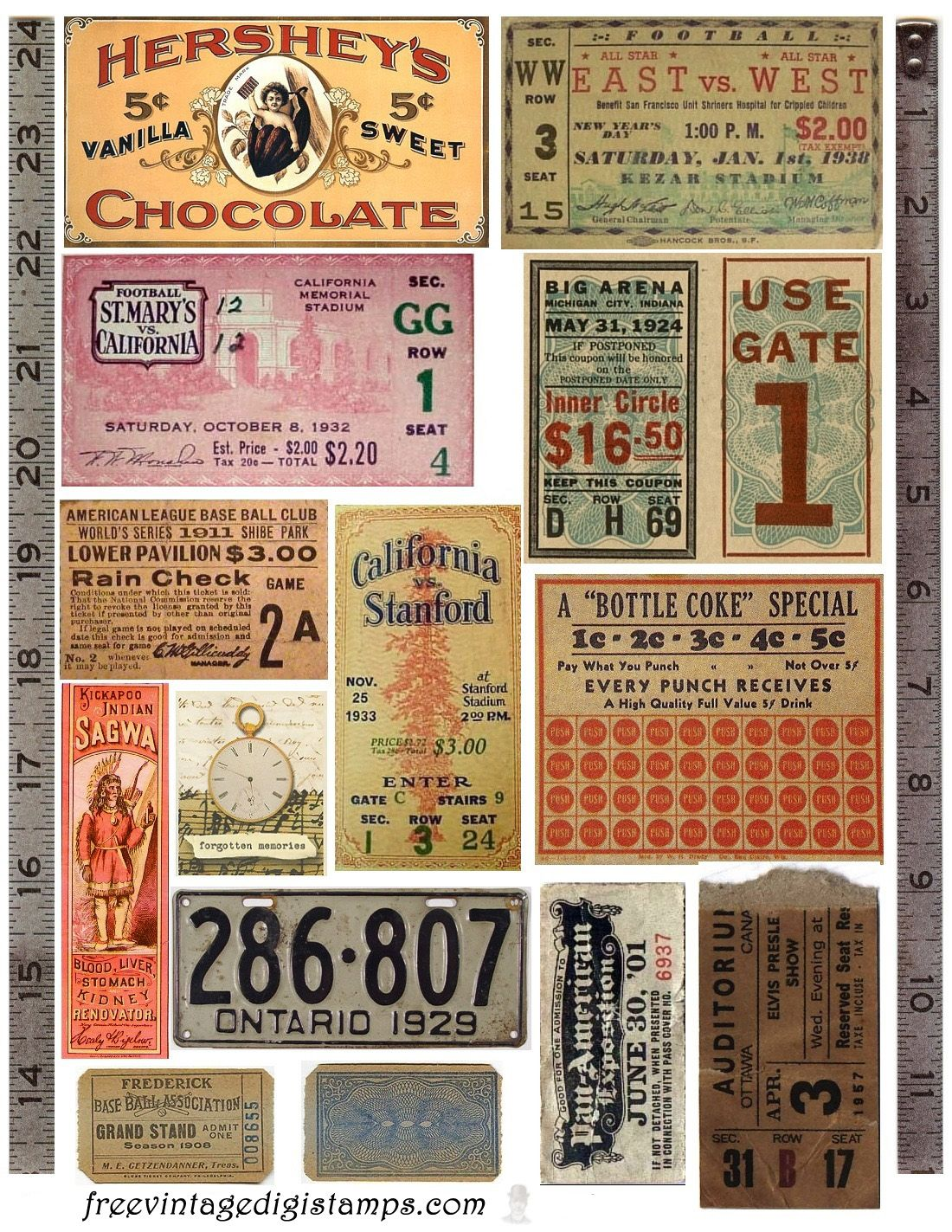 image about Free Printable Ephemera known as Totally free Typical Electronic STaMPS**: No cost Common Pictures