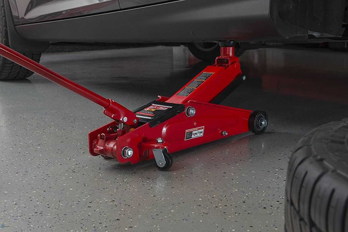 Torin Big Red Hydraulic Trolley Floor Jack Suv Extended Height