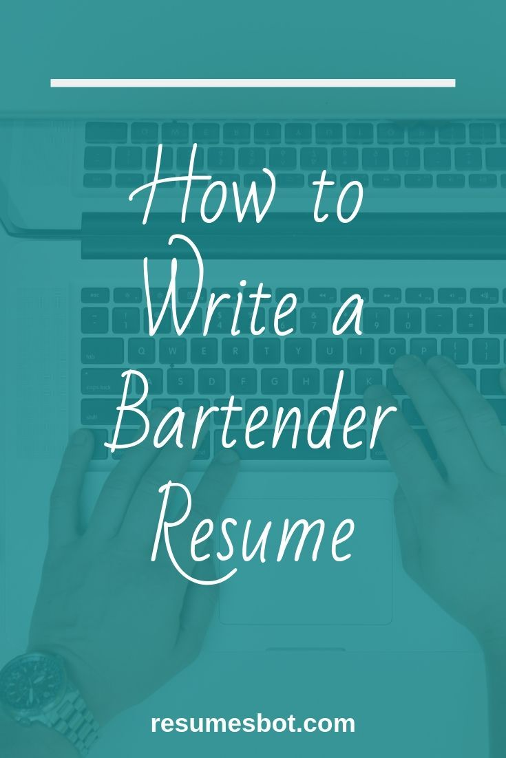 Bartender Resume Samples and Tips [PDF+DOC Templates] 2019 - Resume advice, Resume writing tips, Resume, Resume tips, Resume examples, Job advice - Want Your Bartender Resume Example looks better  ⏩ Use ⚡ ATSfriendly Guide for writing an effective Bartender Resume and free Examples in ✅ PDF ✅ MS Word Version