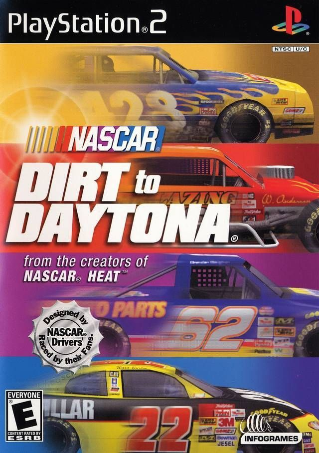 Nascar Dirt To Daytona Sony Playstation 2 2002 Playstation 2