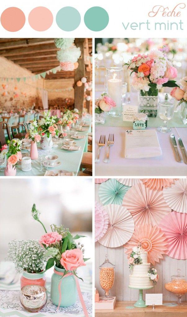 decoration mariage peche