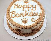 Dog Safe Igredient Birthday Cake 6 Round Double Layer