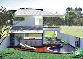 Muros Fachada Modernas Projetos Casas Veis Cultura Mix Ajilbabcom