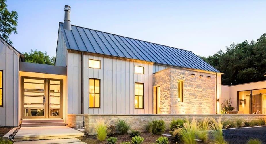 Solar Roofing Comparison Modern Farmhouse Exterior Modern Farmhouse Design Farmhouse Exterior