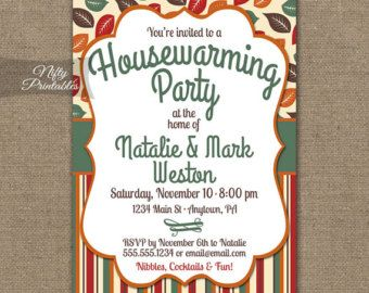 Housewarming Invitations Printable Brown Wood Rustic House  House