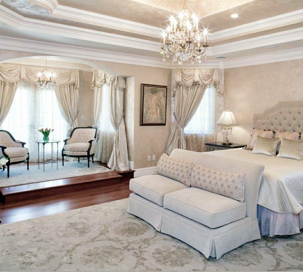 Pin by Shonny on Luxury Bedrooms | Elegant bedroom design ...