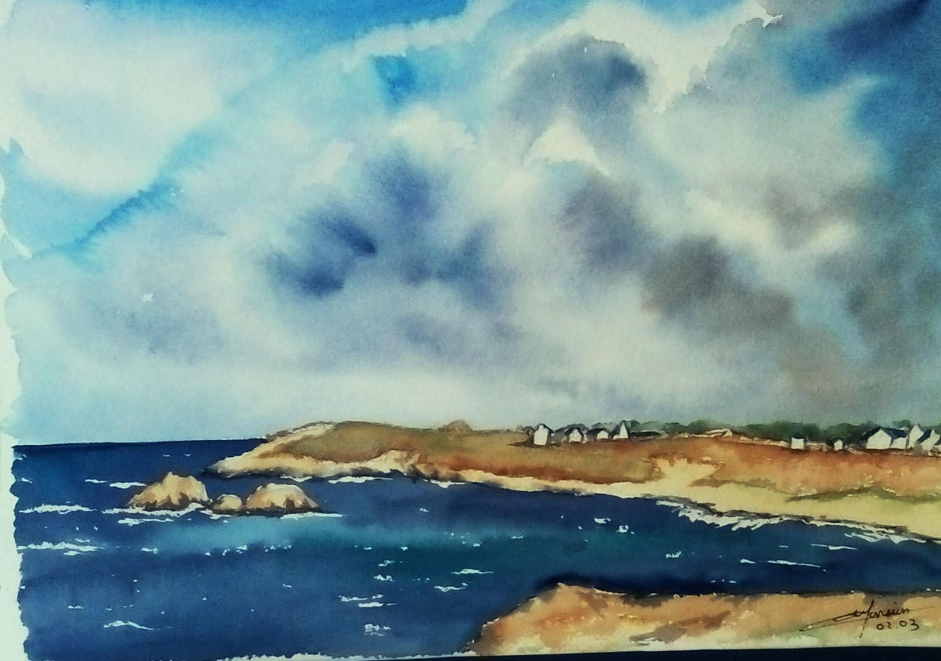 Epingle Sur Aquarelles Opale Isis Christine Monsion