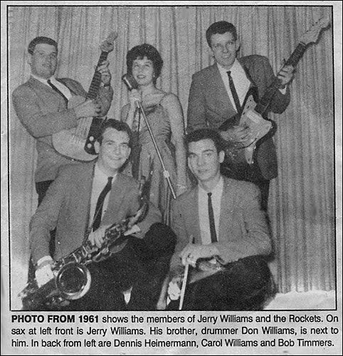 Jerry Williams and the Rockets