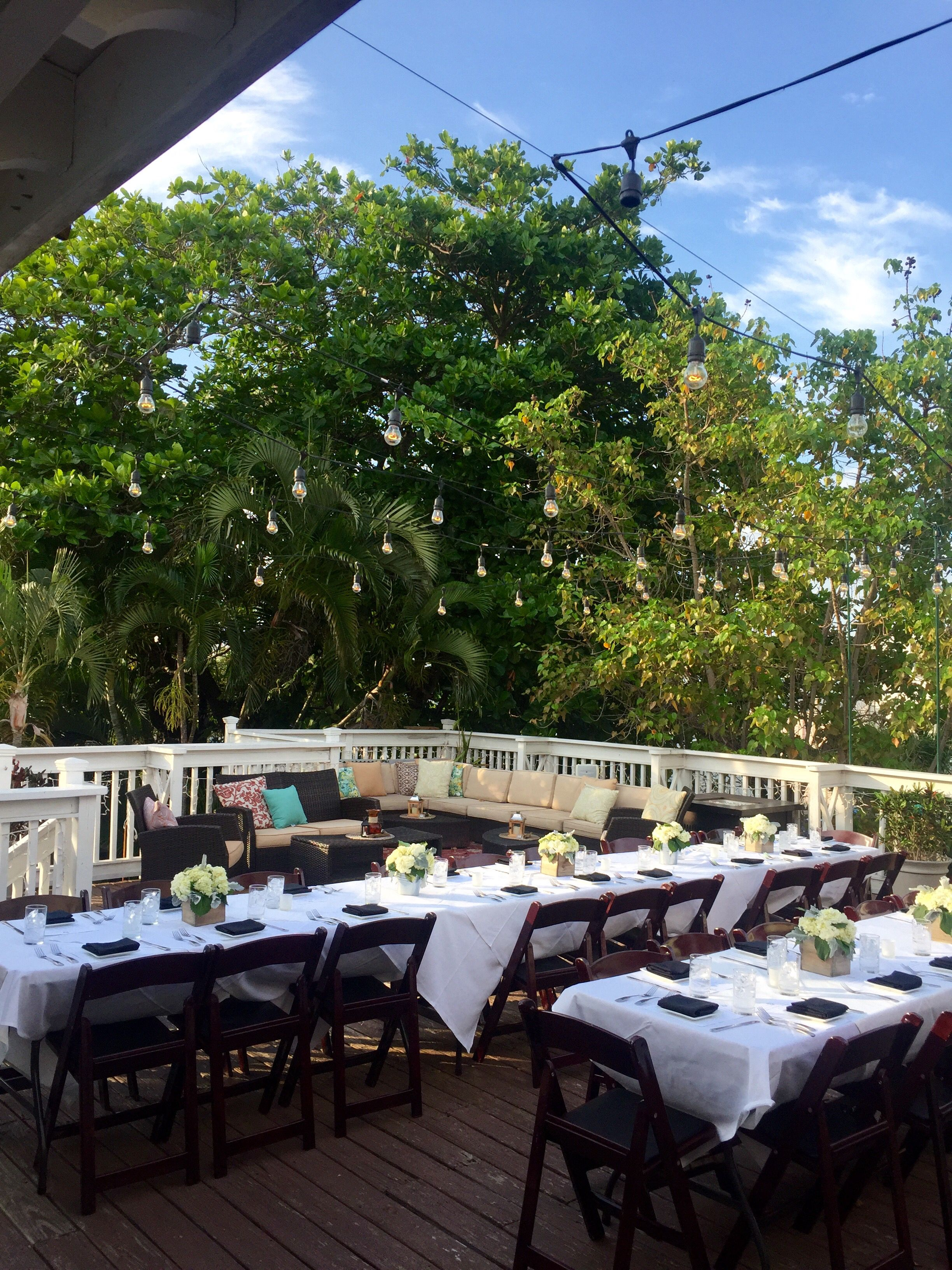 the moon lounge bagatelle key west wedding or large group dinner