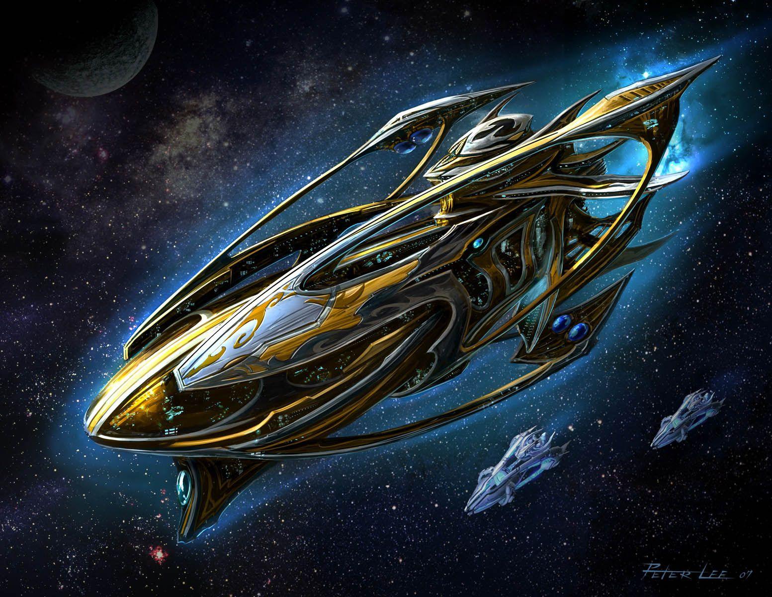 StarCraft II - Mothership (Protoss) | Sci-Fi Board in 2019