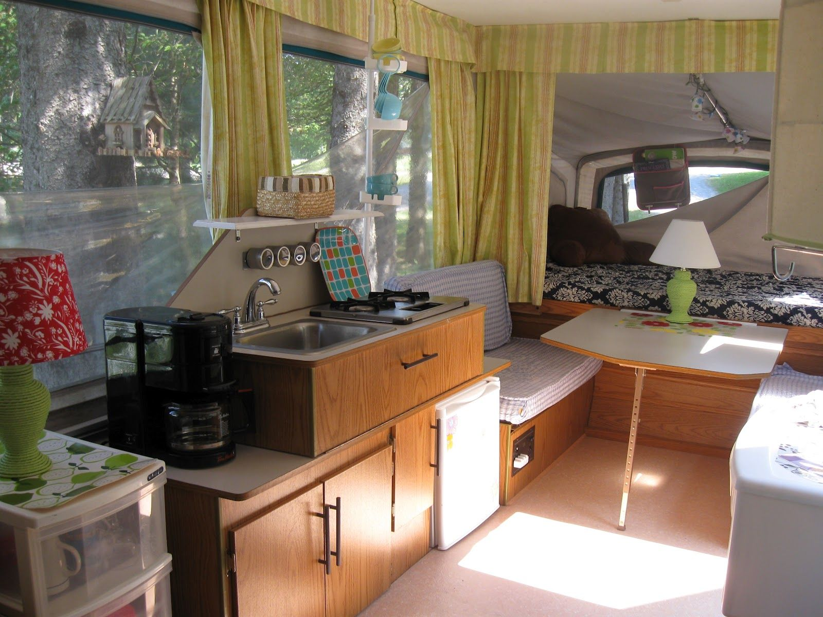 Idee Per Interni Roulotte : I am going to do this to my tent trailer! for the home pinterest
