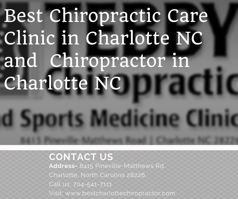 tebby chiropractic and sports medicine clinic is the top