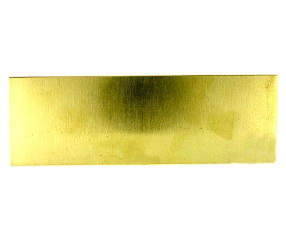 Yellow Brass Sheet 22ga 6 X 2 64mm Thick Etsy In 2020 Yellow Brass Stainless Steel Sheet Metal Sheet