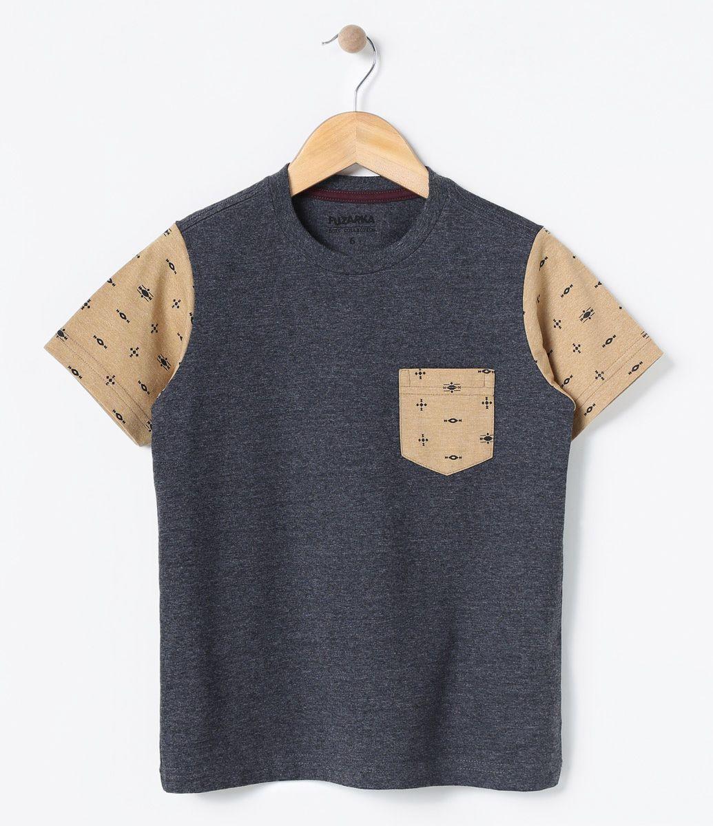 Camiseta infantil Manga curta Gola redonda Estampada Marca  Fuzarka Tecido   meia malha COLEÇÃO VERÃO f0c01878c1e50