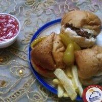 البرجر المنزلى من مطبخ شيف نشوى الحلوانى Food Breakfast