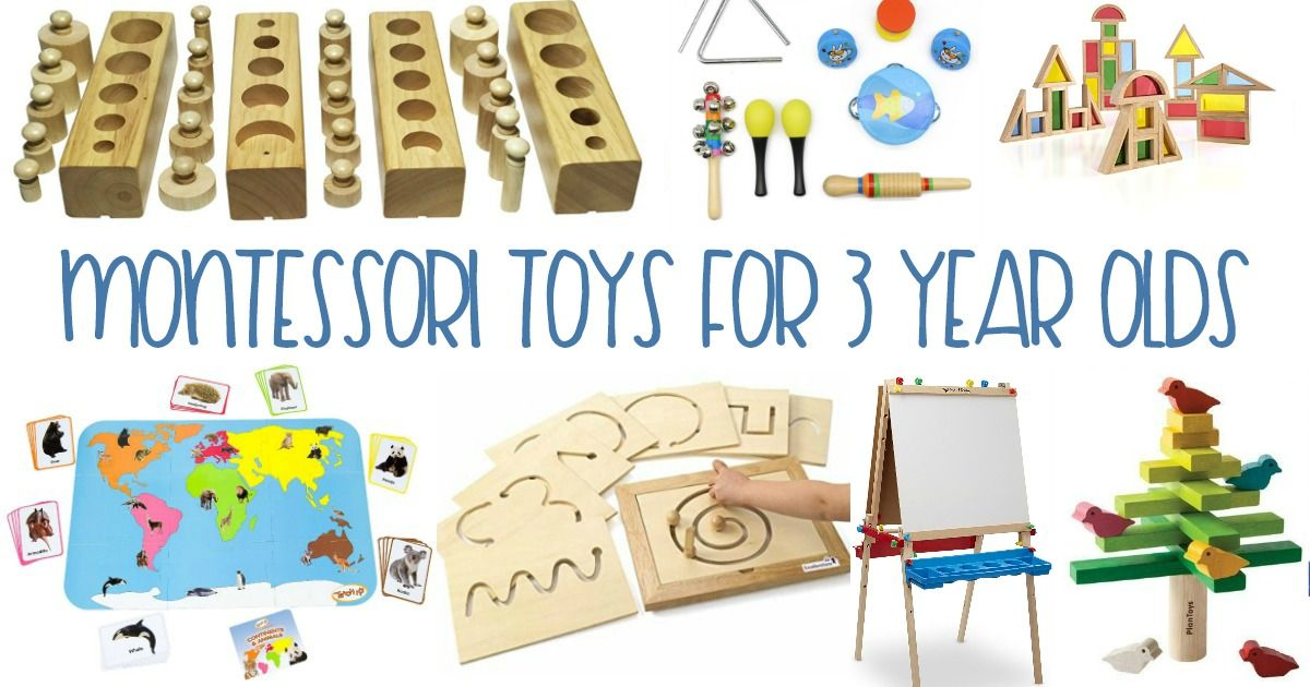 Montessori Gifts 3 Year Olds Love | Creative toys for kids ...