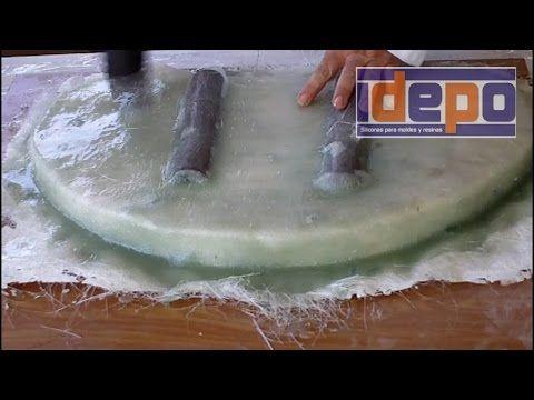 Molde para piedra artificial con fibra de vidrio youtube costumes botargas pinterest - Moldes piedra artificial ...