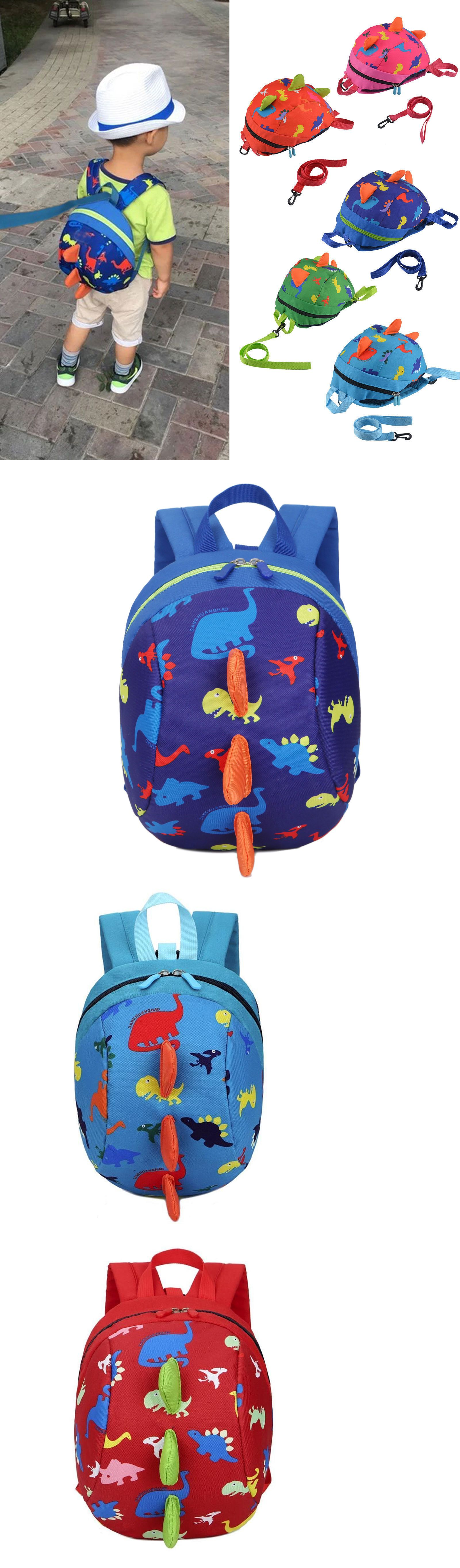 ece4b492fdba Toddler Safety Harnesses 134761  Toddler Backpack Anti-Lost Band Kids  Children Bag Dinosaur Cartoon School Bag Us -  BUY IT NOW ONLY   10.69 on  eBay!