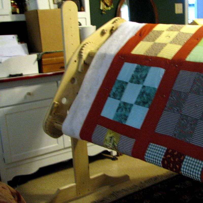 Custom Quilting Frame; Hand quilting frame made by William & Carol ...